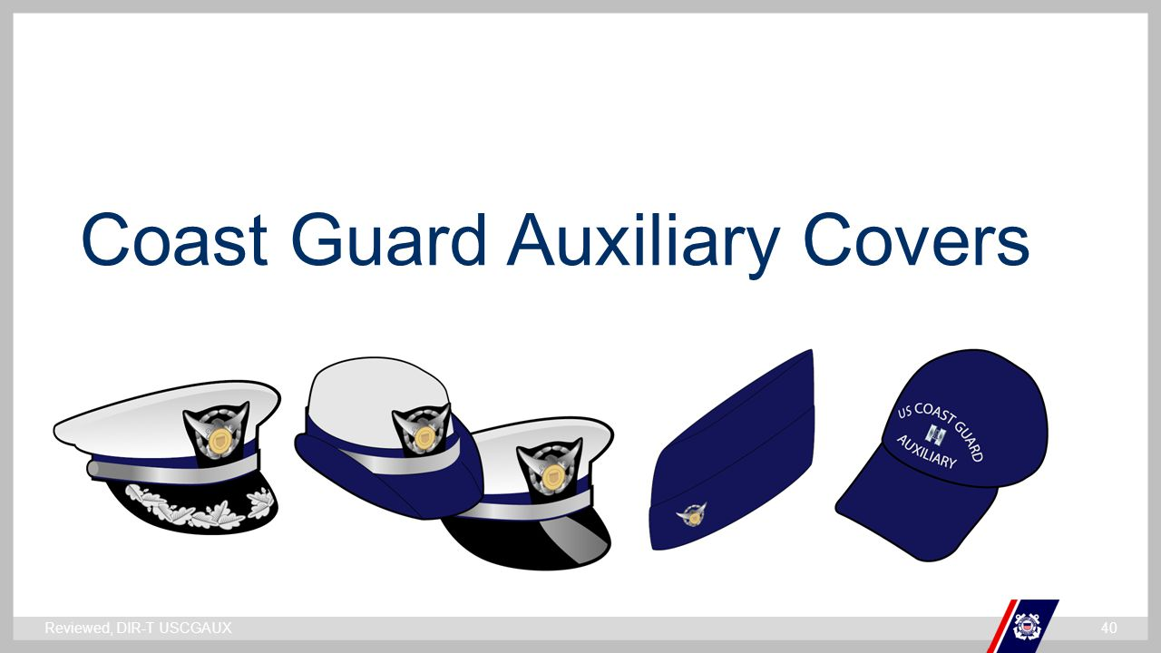 Coast Guard Auxiliary Covers
