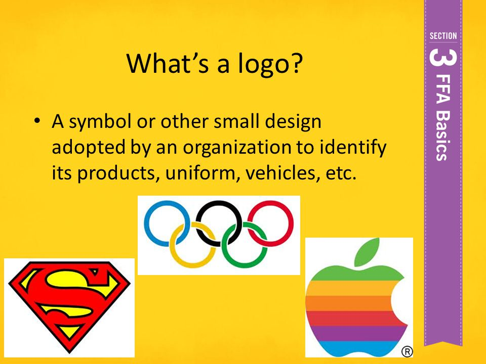 What's a logo.