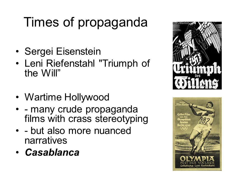 Times of propaganda Sergei Eisenstein