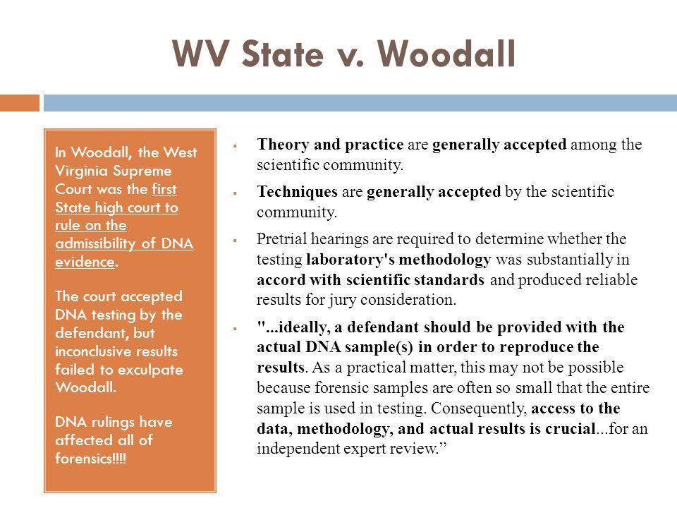 WV State v. Woodall