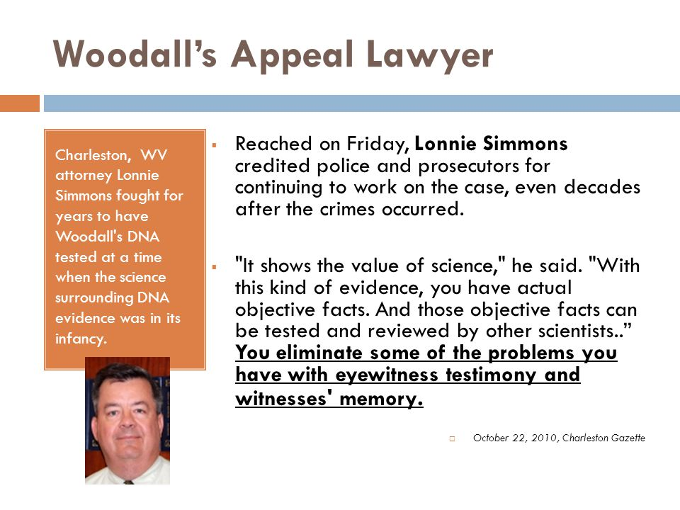 Woodall's Appeal Lawyer