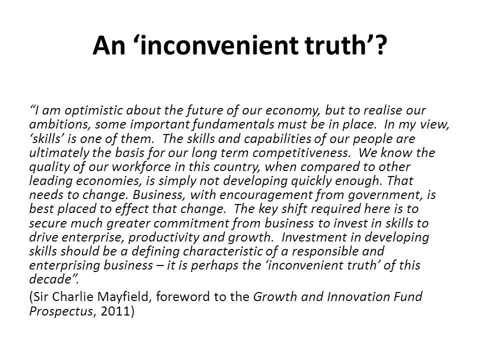 An 'inconvenient truth'
