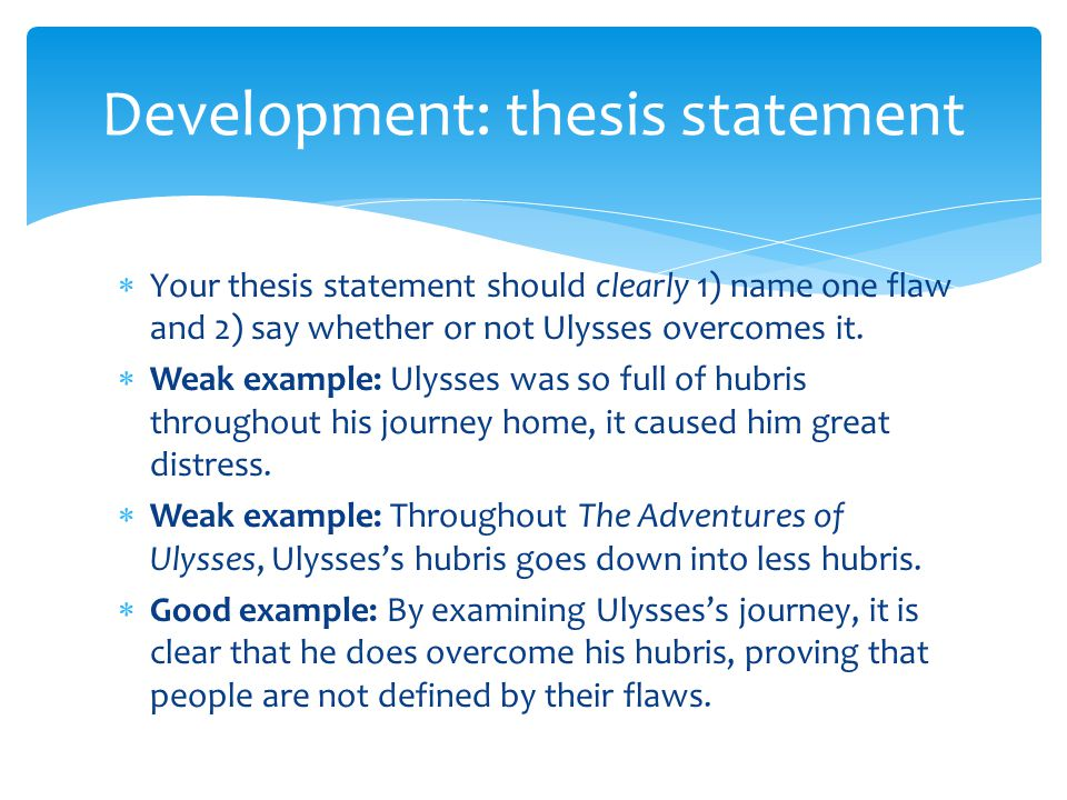 "whats a thesis statement So an introduction gives an overview of the topic and your thesis statement the final roman numeral should be your ""conclusion"" sample outline #2."