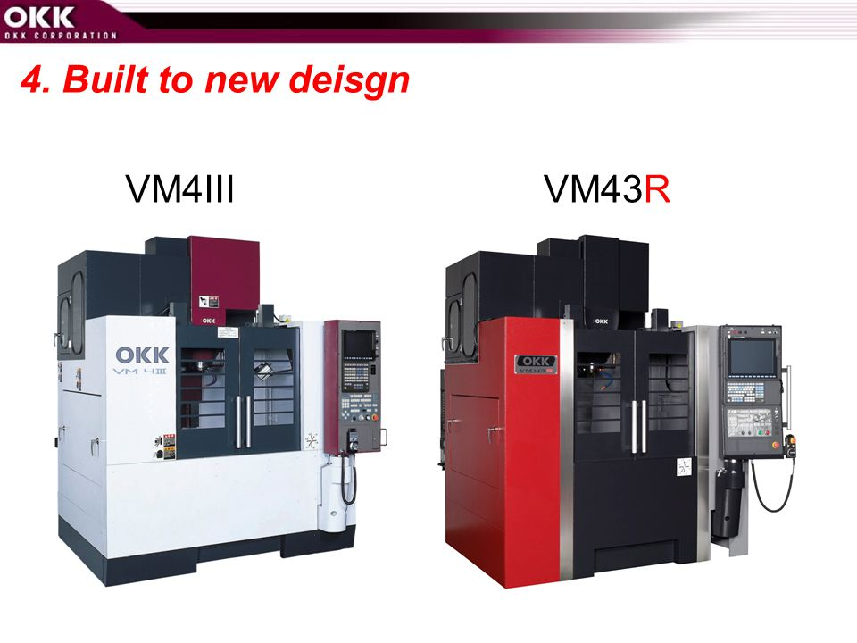 4. Built to new deisgn VM4III VM43R