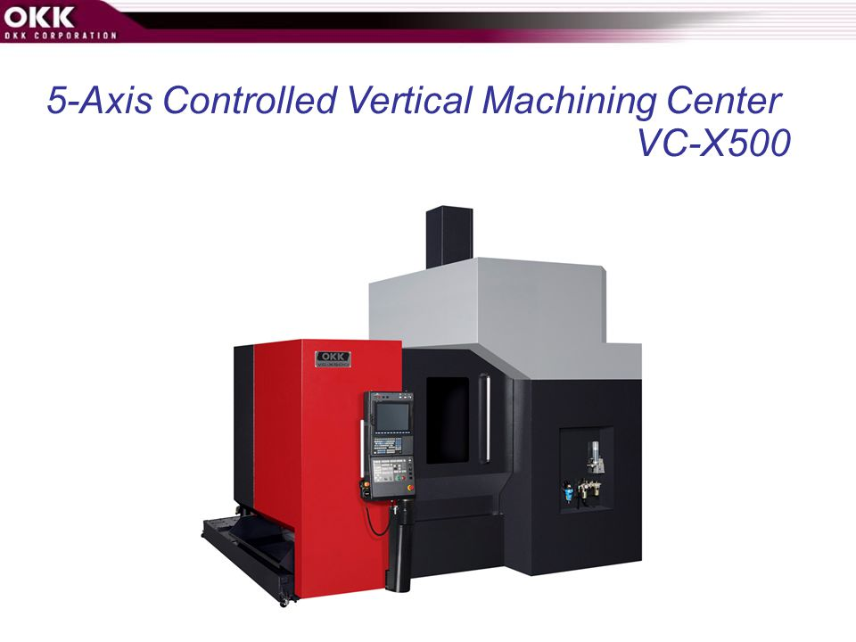 5-Axis Controlled Vertical Machining Center
