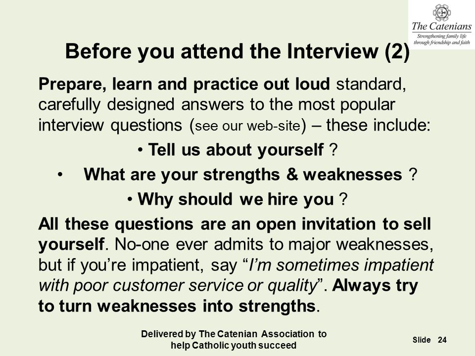 Before you attend the Interview (2)