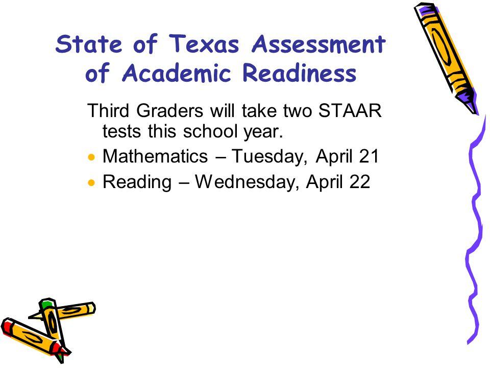 State of Texas Assessment of Academic Readiness