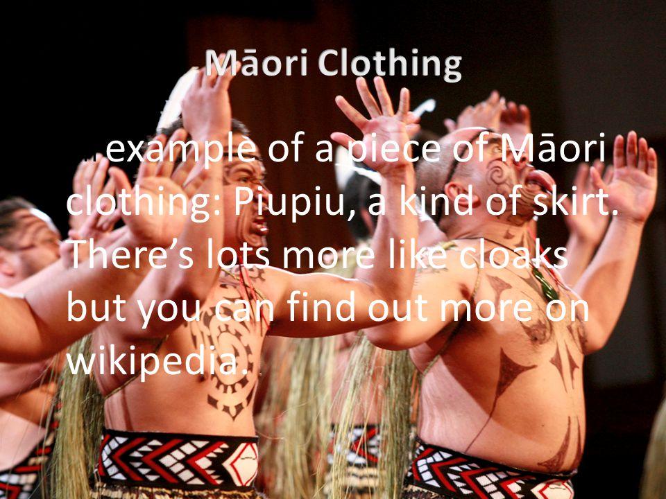 Māori Clothing