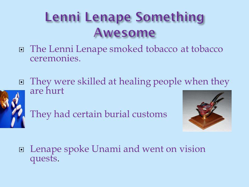 Lenni Lenape Something Awesome