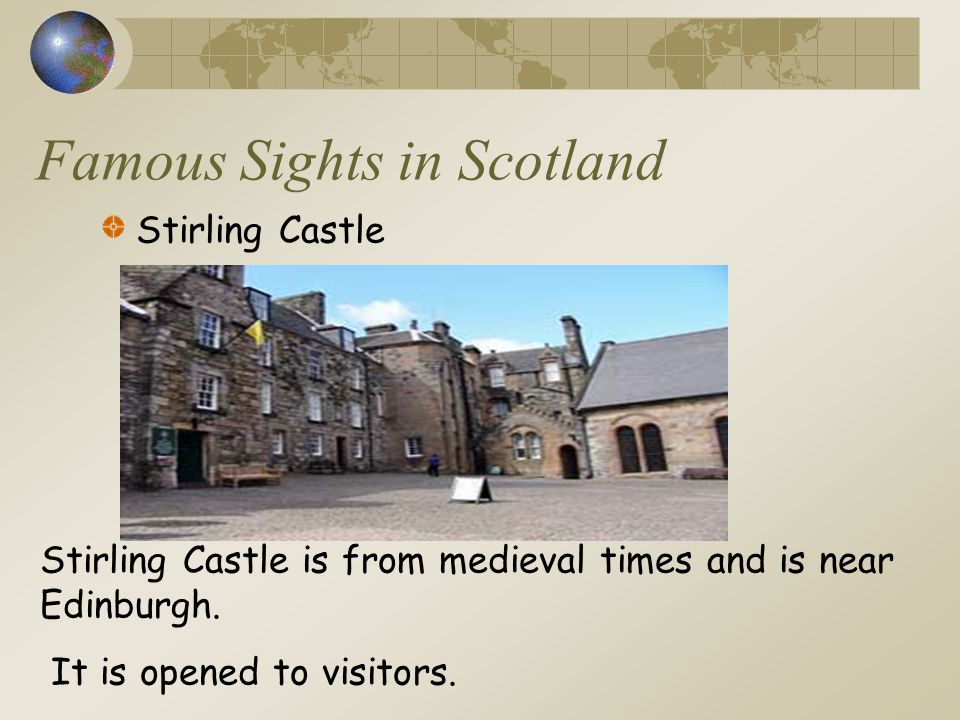 Famous Sights in Scotland
