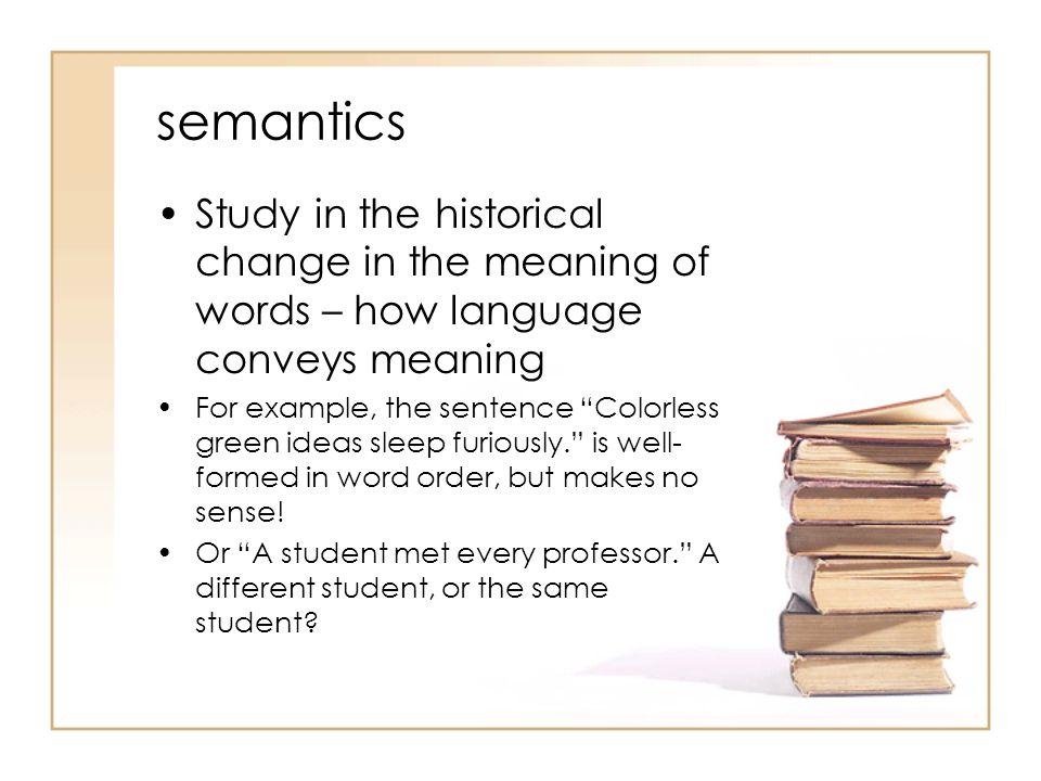 Etymology terms.