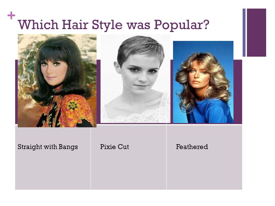 Which Hair Style was Popular