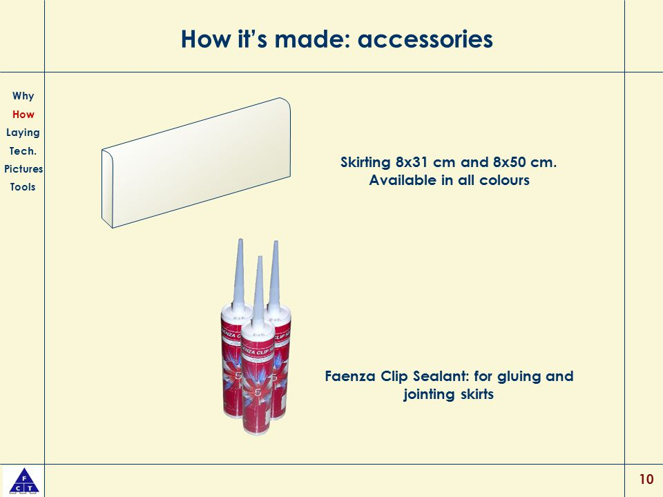 How it's made: accessories