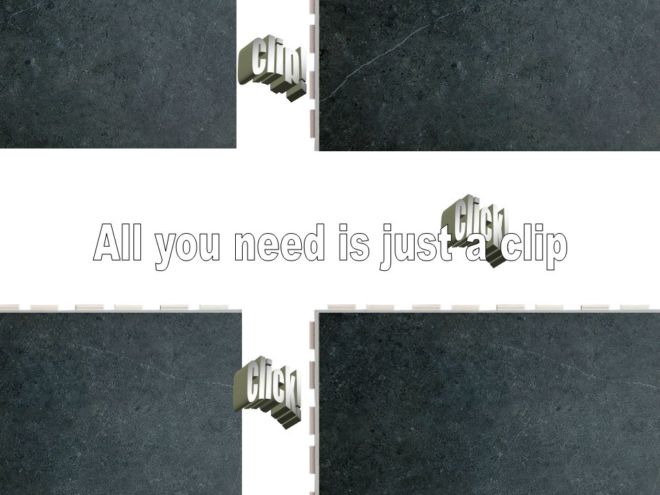 All you need is just a clip