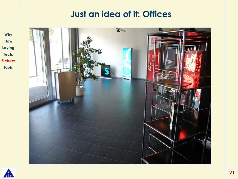 Just an idea of it: Offices