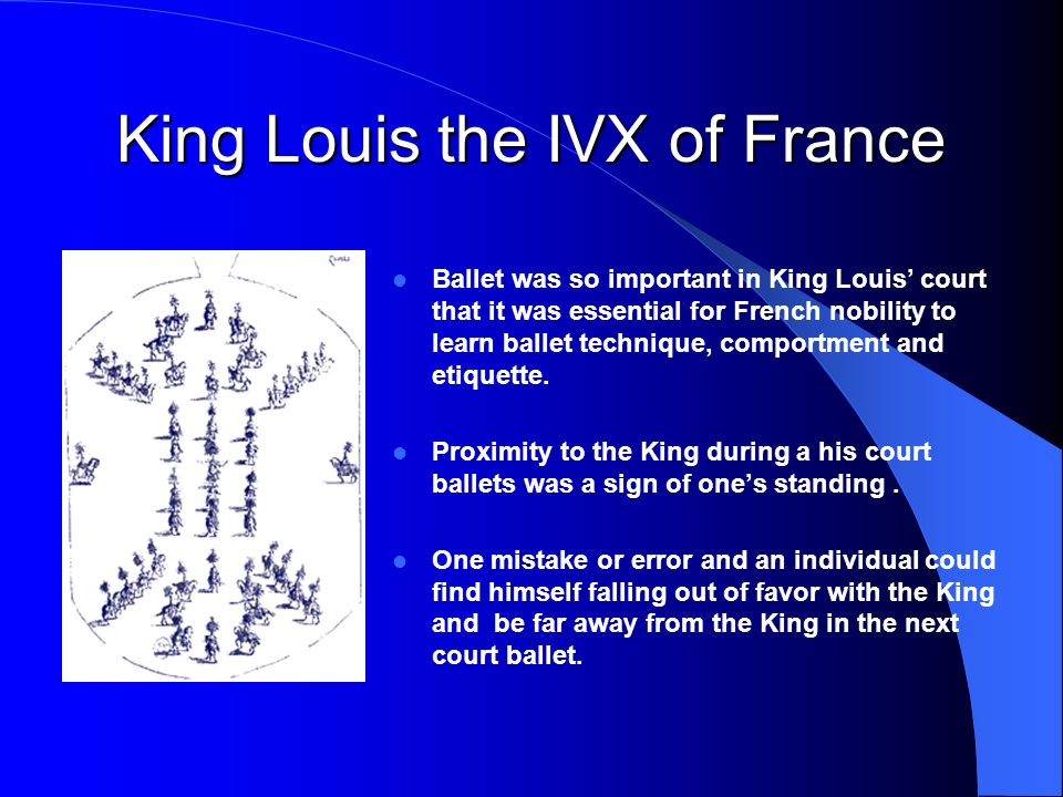 King Louis the IVX of France