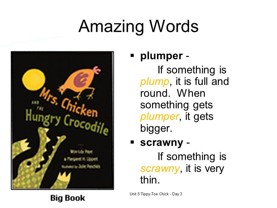Amazing Words plumper -
