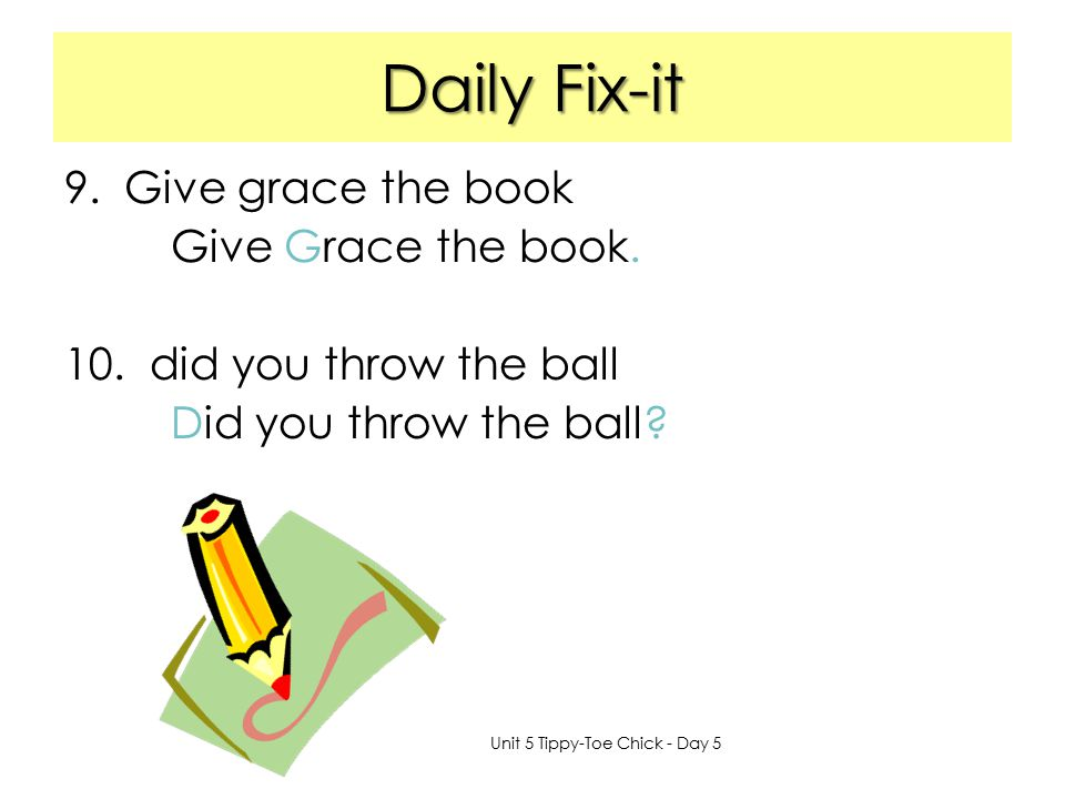 Daily Fix-it Give grace the book Give Grace the book.