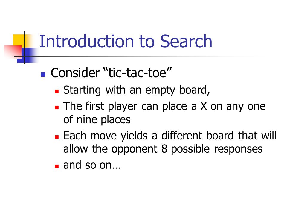 Introduction to Search