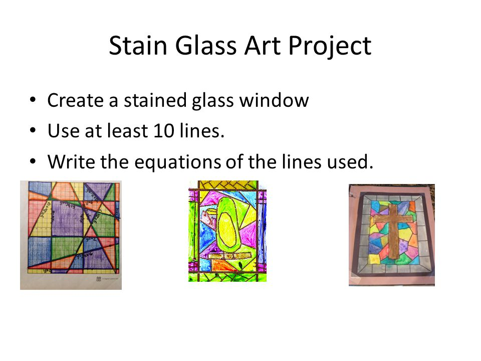Stain Glass Art Project