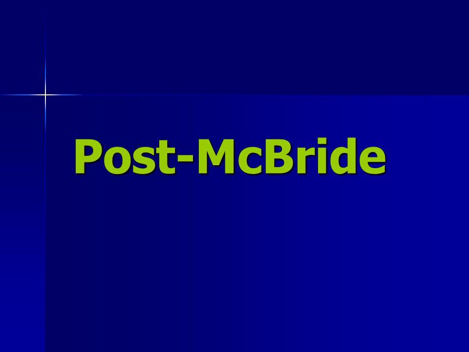 Post-McBride