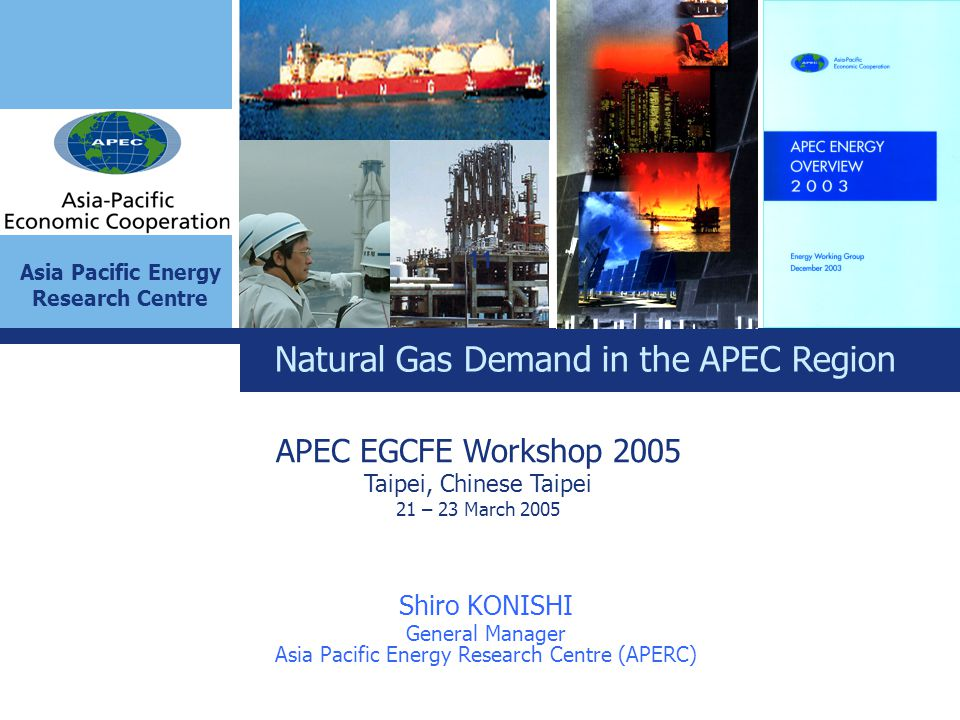Asia Pacific Energy Research Centre (APERC)