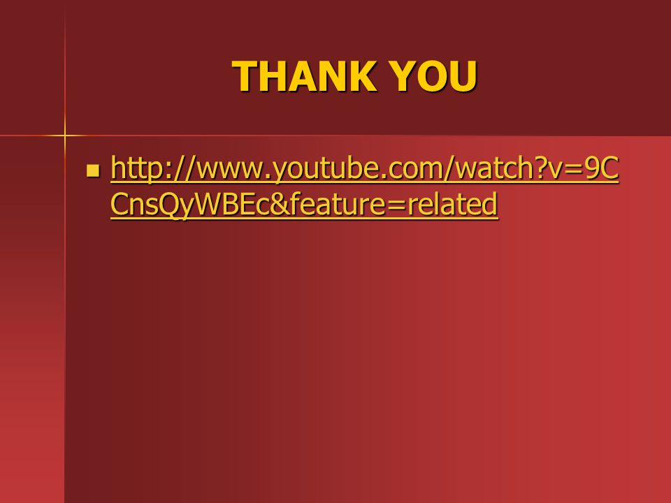 THANK YOU http://www.youtube.com/watch v=9CCnsQyWBEc&feature=related