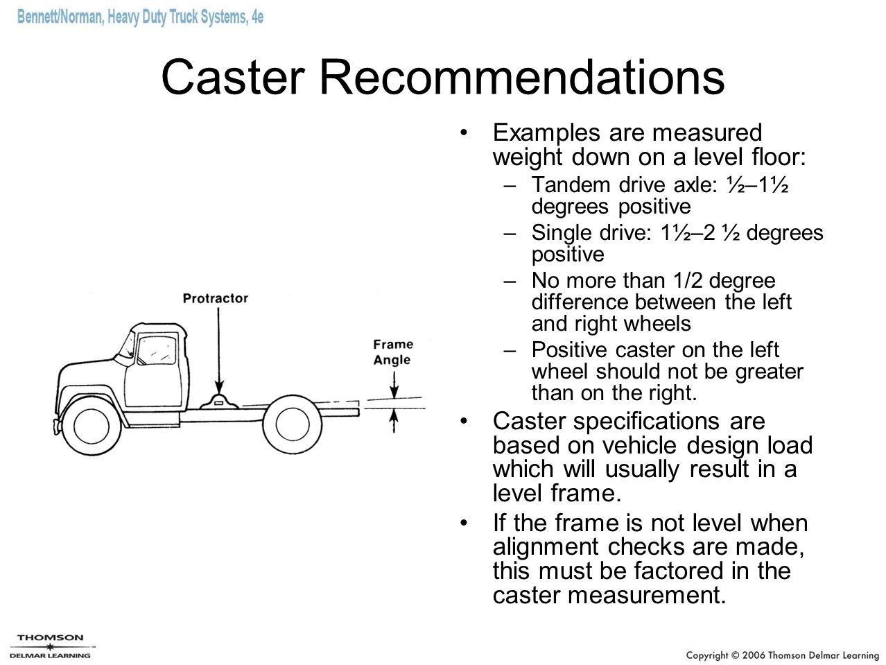 Caster Recommendations