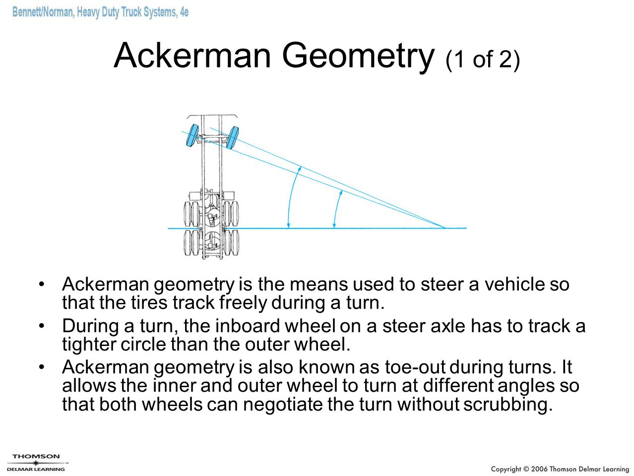 Ackerman Geometry (1 of 2)