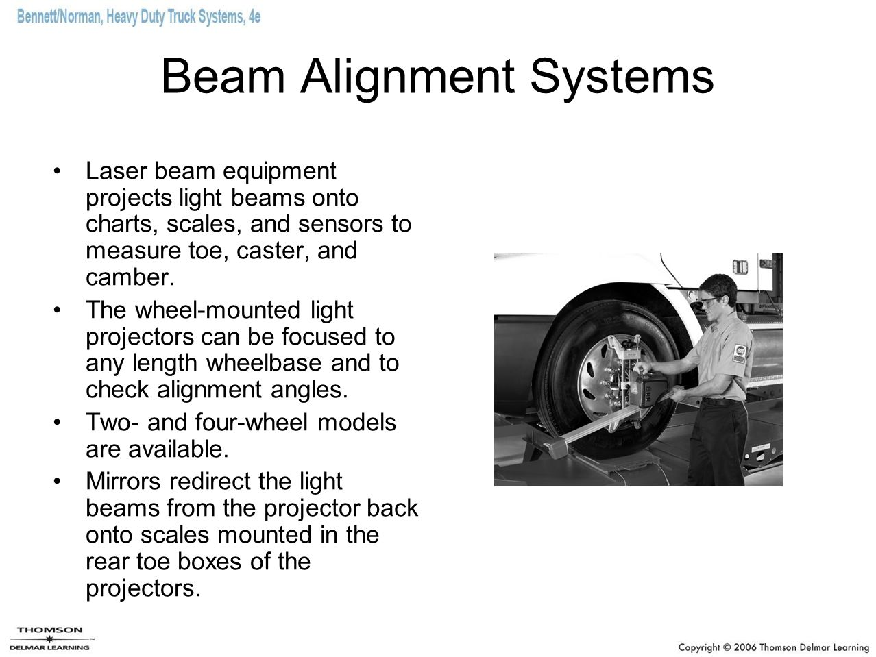 Beam Alignment Systems