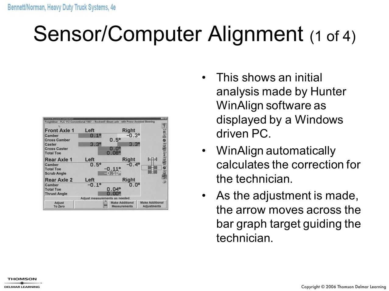 Sensor/Computer Alignment (1 of 4)