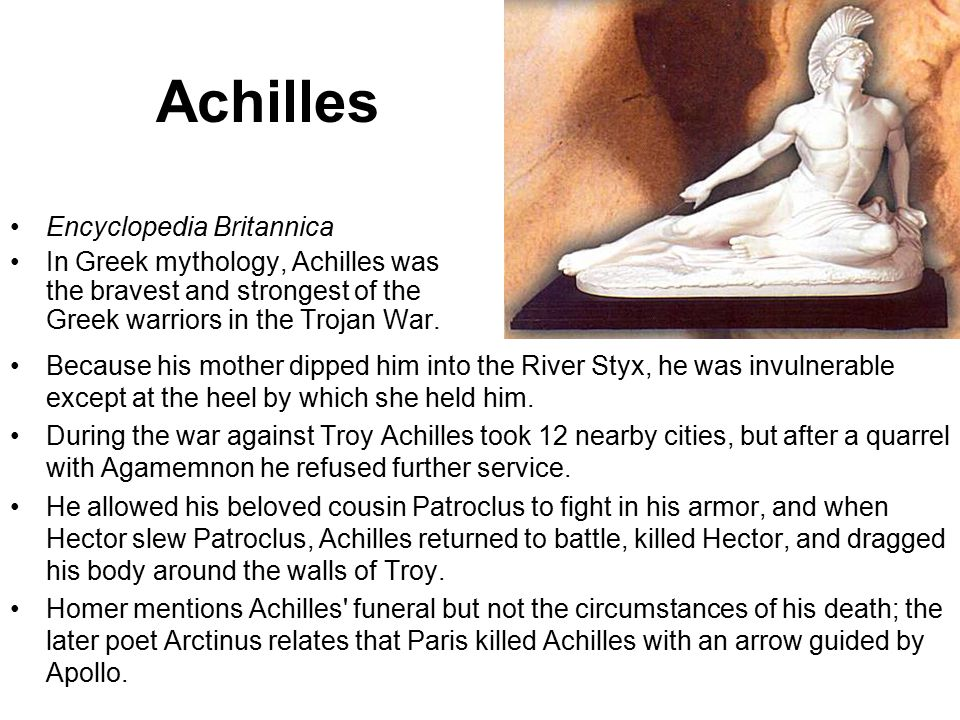 Achilles Encyclopedia Britannica