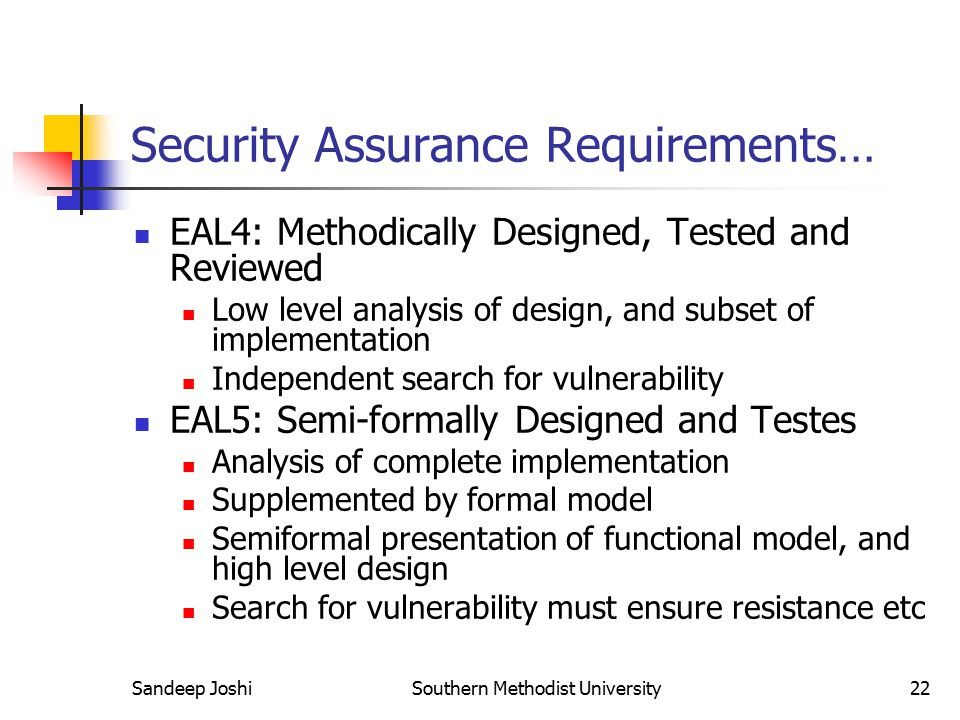 Security Assurance Requirements…