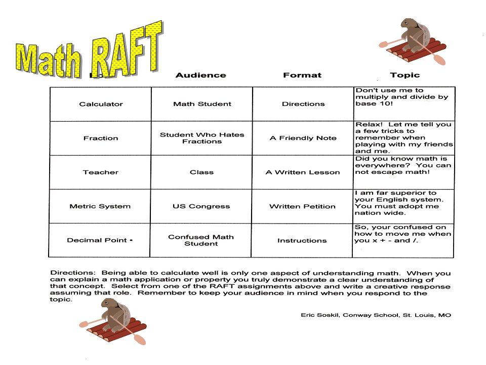 Math RAFT