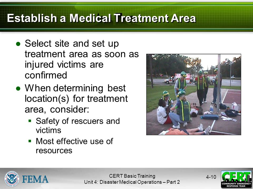 Treatment Area Site Selection
