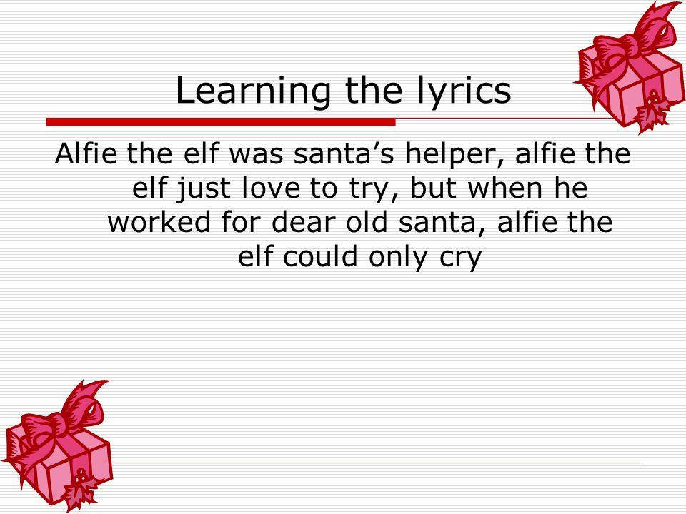 Learning the lyrics