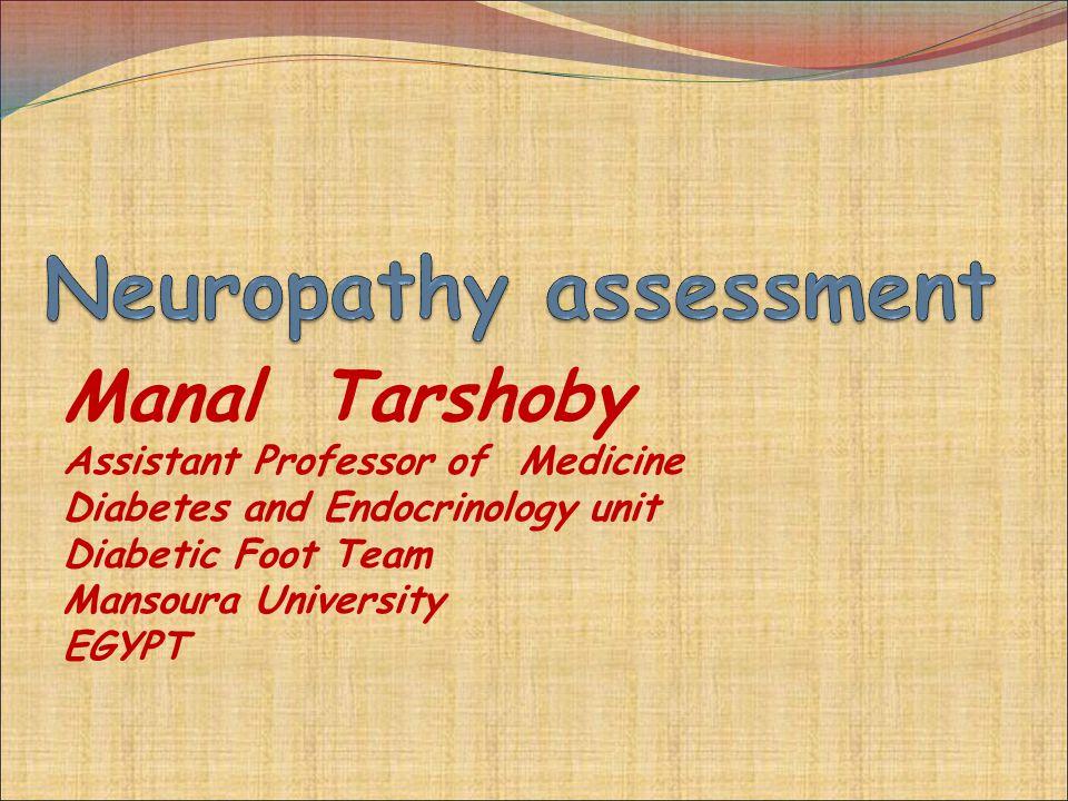 Neuropathy assessment