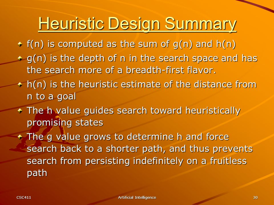 Heuristic Design Summary