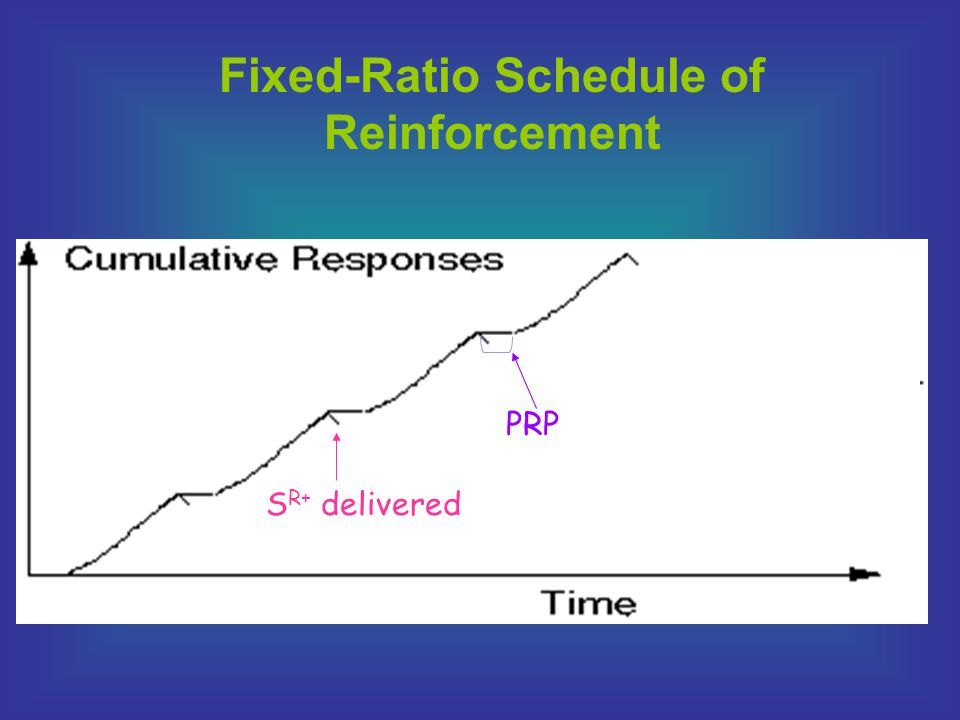 Fixed-Ratio Schedule of Reinforcement