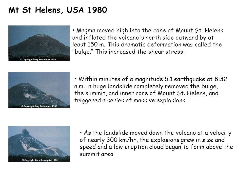 Mt St Helens, USA 1980