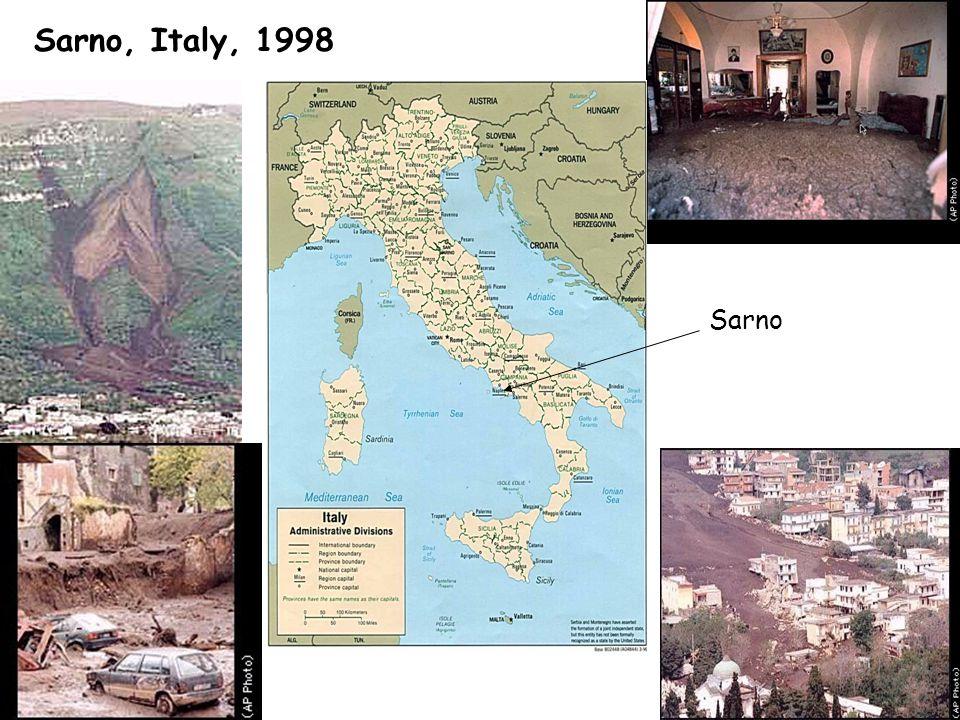 Sarno, Italy, 1998 Sarno