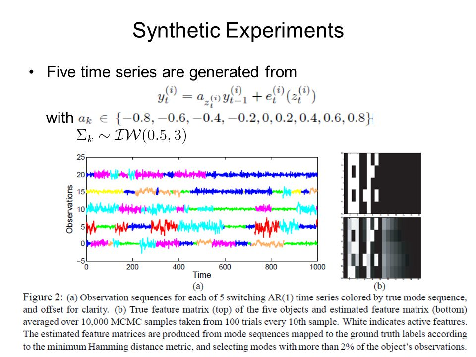 Synthetic Experiments