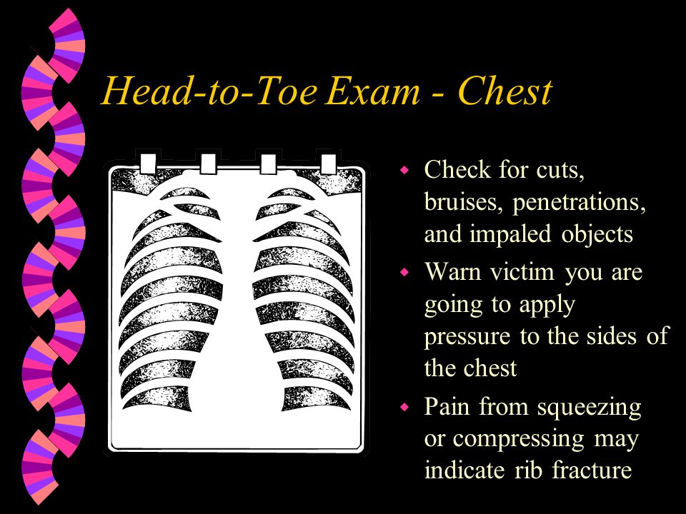 Head-to-Toe Exam - Chest