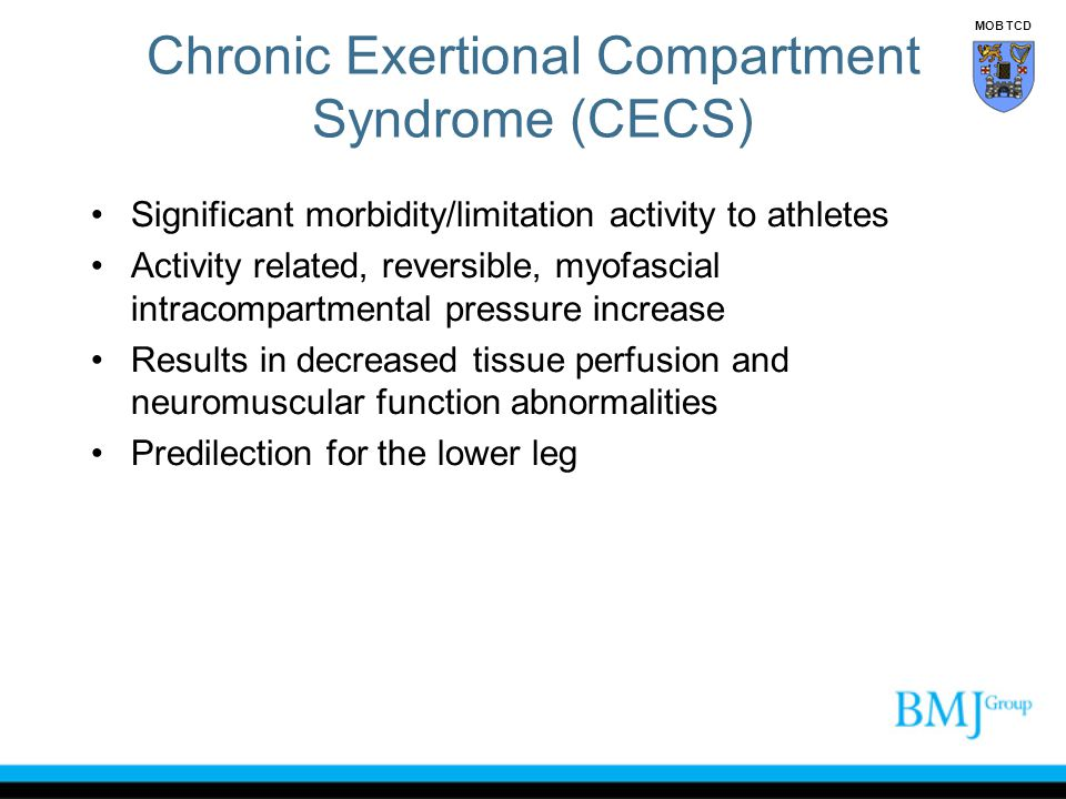 Chronic Exertional Compartment Syndrome (CECS)