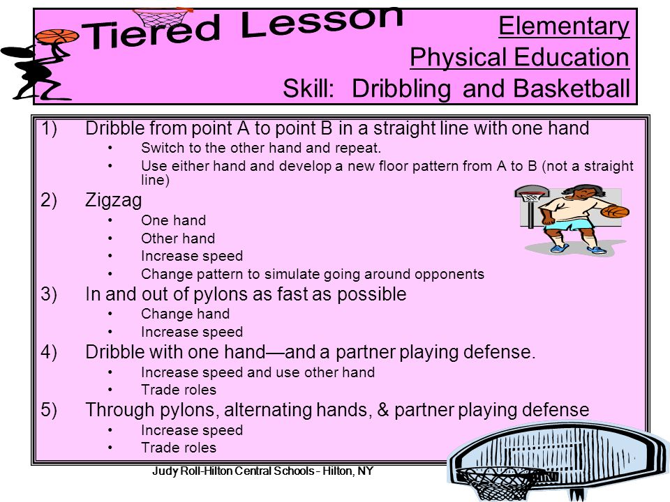 Elementary Physical Education Skill: Dribbling and Basketball