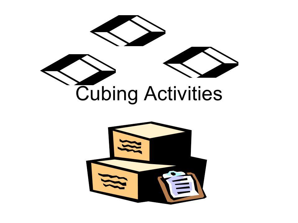 Cubing Activities