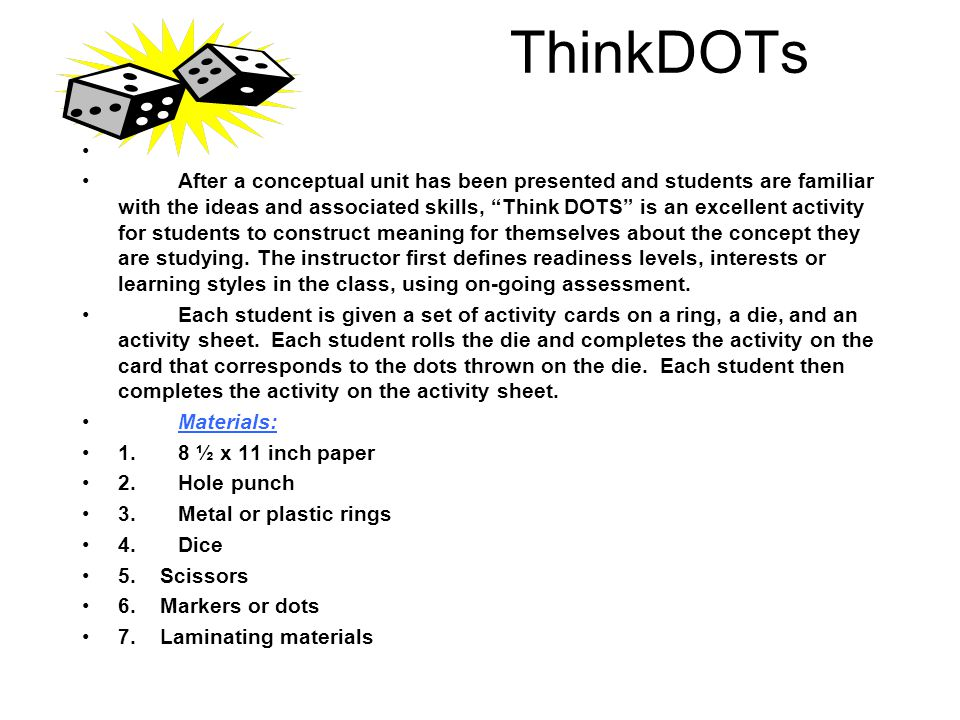 ThinkDOTs