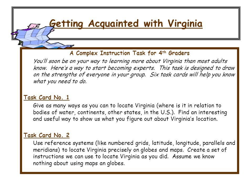 Getting Acquainted with Virginia