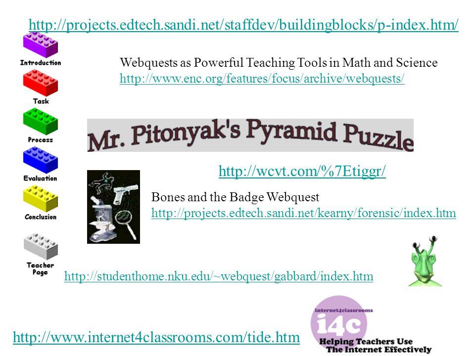 http://projects. edtech. sandi. net/staffdev/buildingblocks/p-index