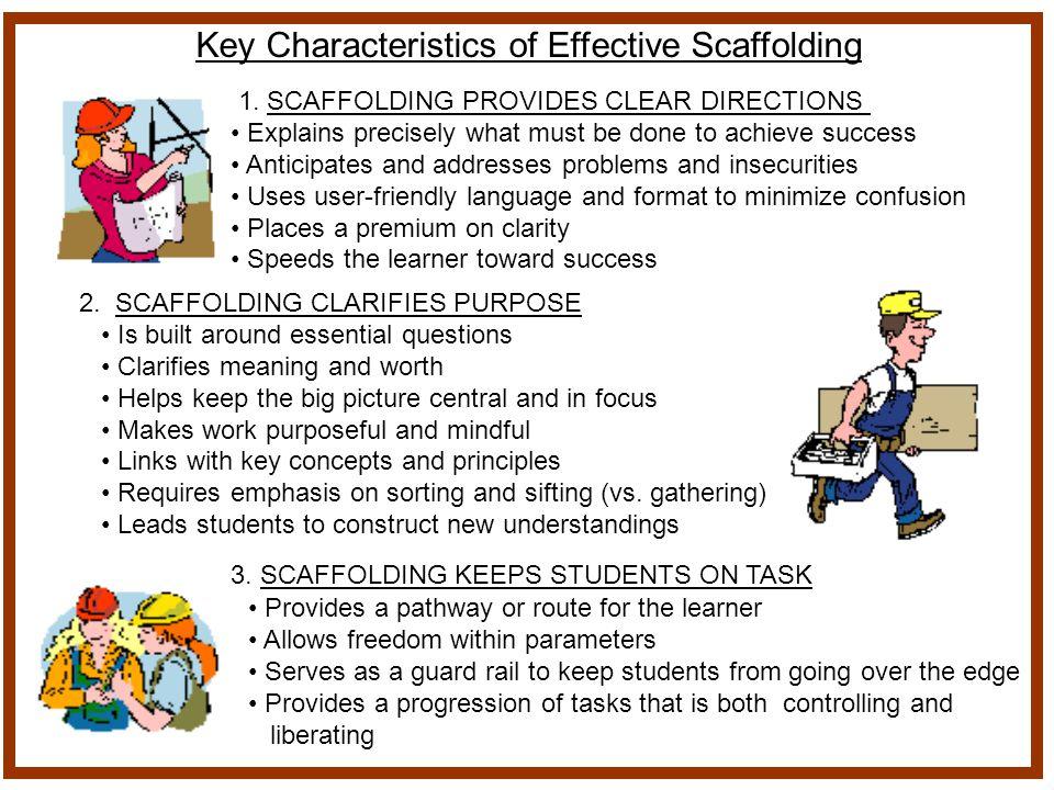 Key Characteristics of Effective Scaffolding